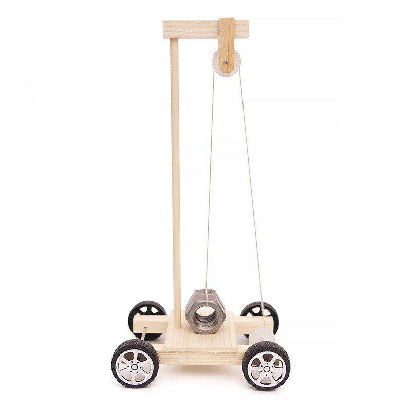 Latest DIY Gravity Vehicle Experimental Children Science Education Toy