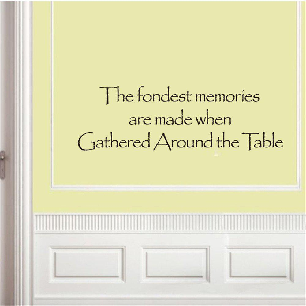 The Fondest Memories Art Vinyl Mural Home Room Decor Wall Stickers Removable