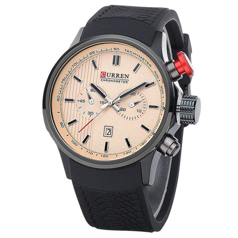 New Curren Gentlemen Watch Luxury Brand Business Quartz Watches