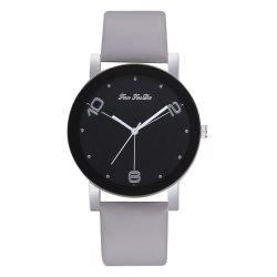 The New Contracted Temperament Lady Quartz Watch Black Picture Frame Business -