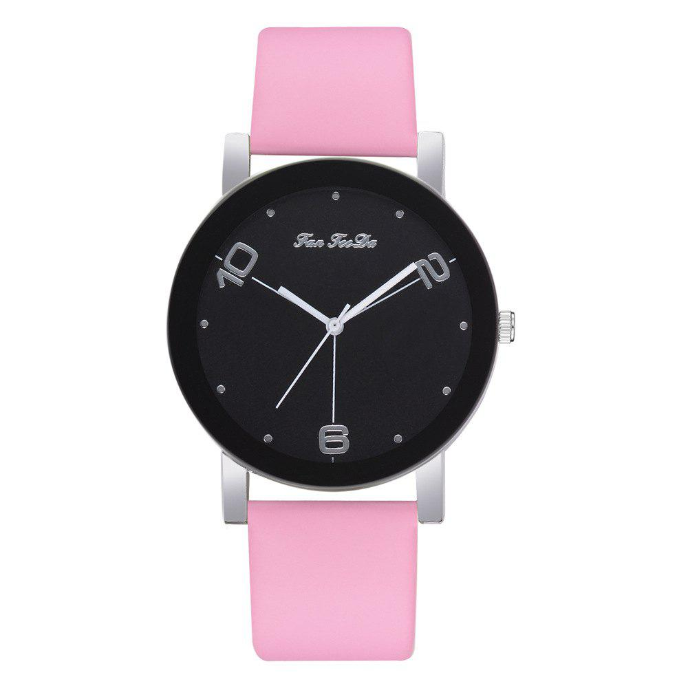 Chic The New Contracted Temperament Lady Quartz Watch Black Picture Frame Business
