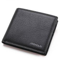 Men'S Head Layer Cowhide Business Leather Wallet -