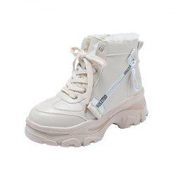 Thick Bottom with A Hundred  Student Boots Comfortable  Boots -