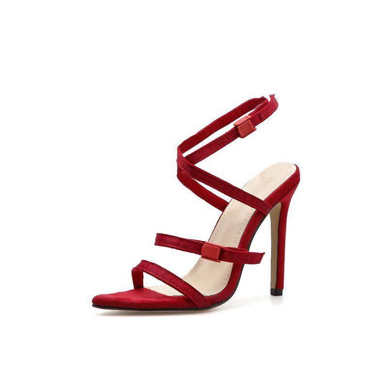 Outfits Women's Stiletto High Heels Slim Party Sandals