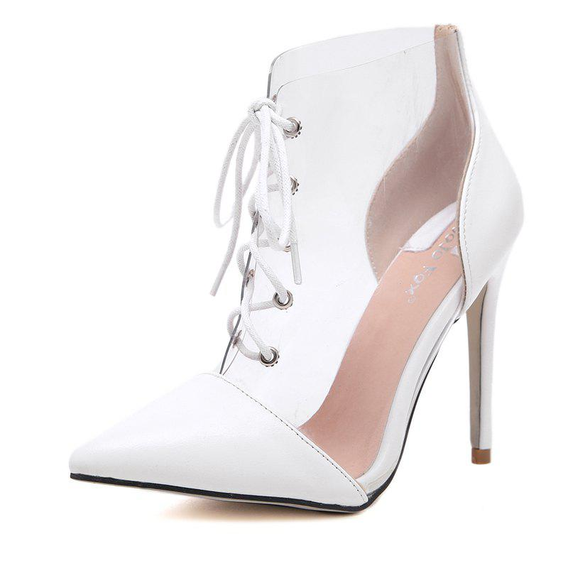 Shop Women's Pointed Toe Stiletto Shoes Fashion Party High Heels with Checkered