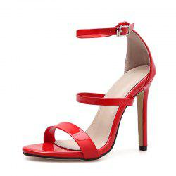 Women's Stiletto Open Toe High Heels Sexy Sandals -