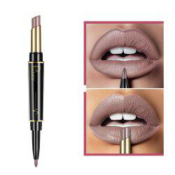 Pudaier Matte Lipstick Wateproof Double Ended Long Longing Lipstick Lip Makeup -