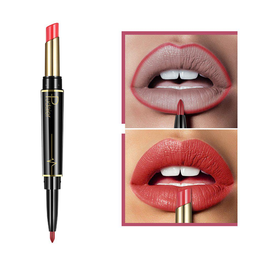 Outfits Pudaier Matte Lipstick Wateproof Double Ended Long Lasting Lipstick Lip Makeup