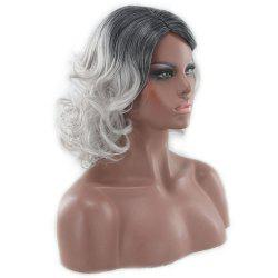 American and European Women Wigs Are Dyed in Shades of Black and Gray -