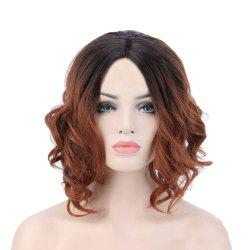 American and European Women Short Hair Dyed with Gradient Wig -