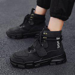 2018 New Winter  Version of The Trend of Men'S Shoes Wild Sports -