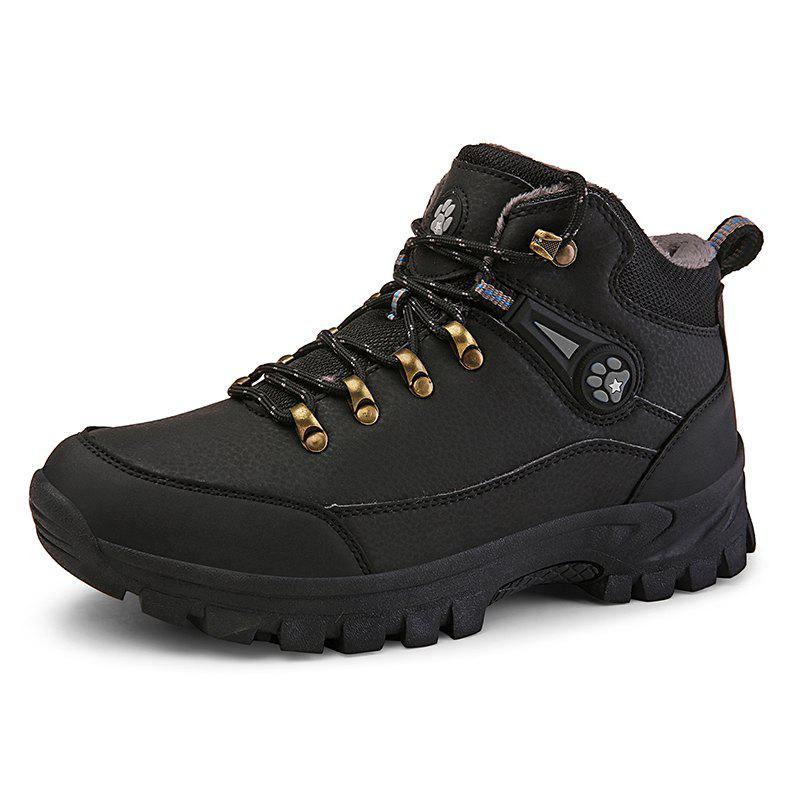 Men's Hiking Shoes Male Outdoor Shoes Hiking Antiskid Breathable Trekking Shoes