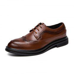Men Lace Up Fashion Soft and Comfortable Shoes -