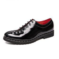 Men Shoes Fashion Soft and Comfortable Lace Up -