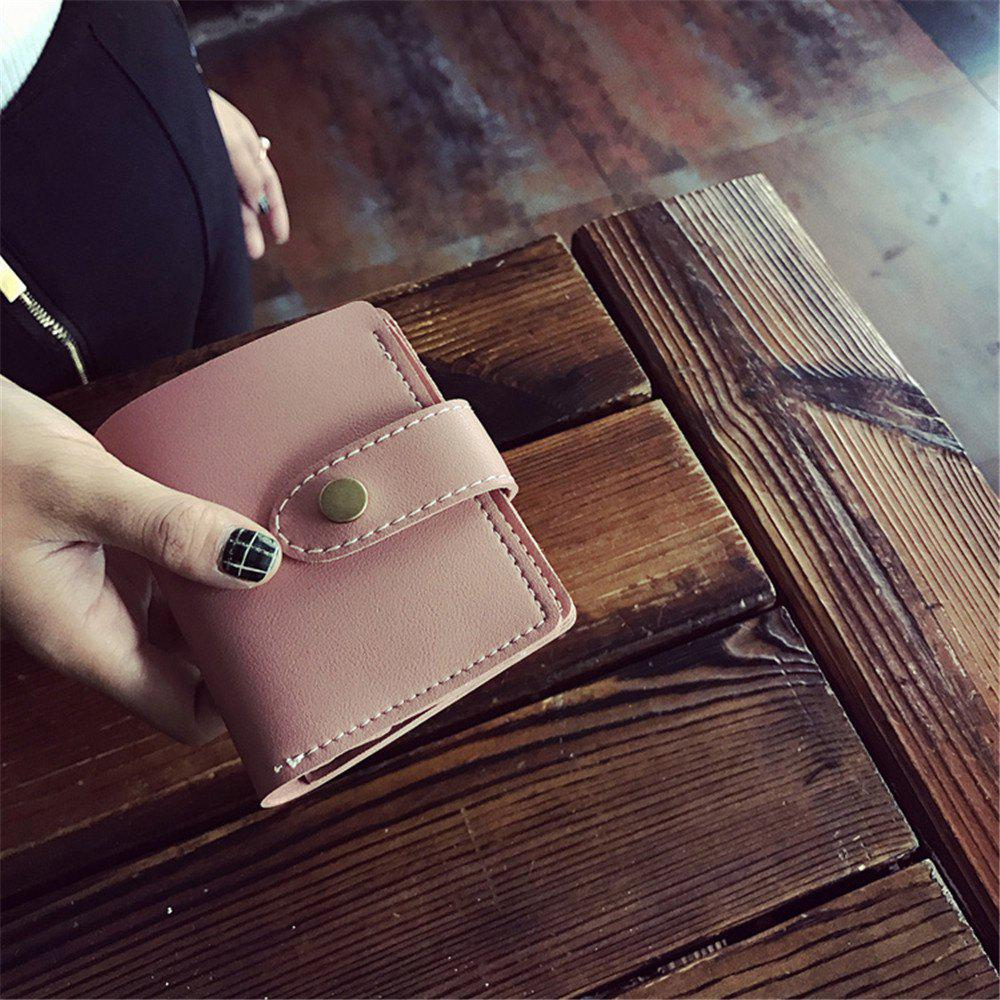 Outfit 2018 New Winter Models Women'S Short Wallet Seventy Percent Off Card Pack