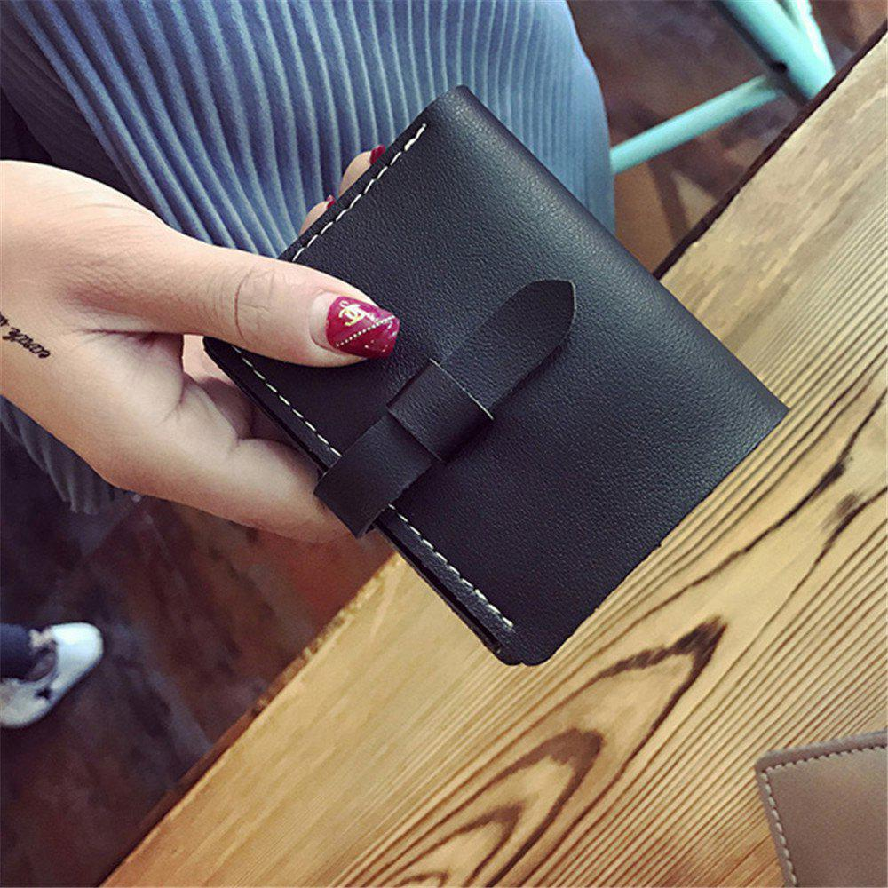 Affordable 2018 New Winter Models Women'S Short Wallet Eighty percent off card pack