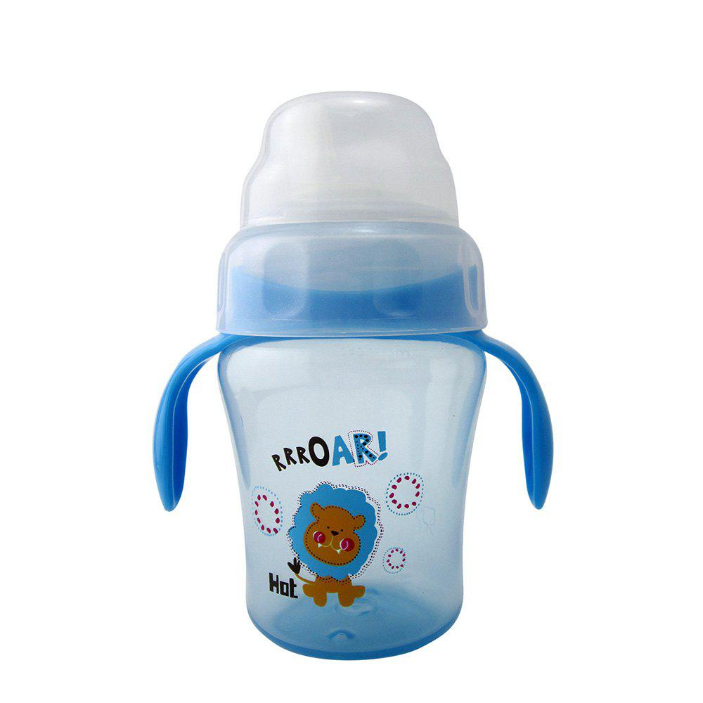 Shops Baby Sippy Cup 240ML Cartoon Animal Double Handle Training Cup Drinking