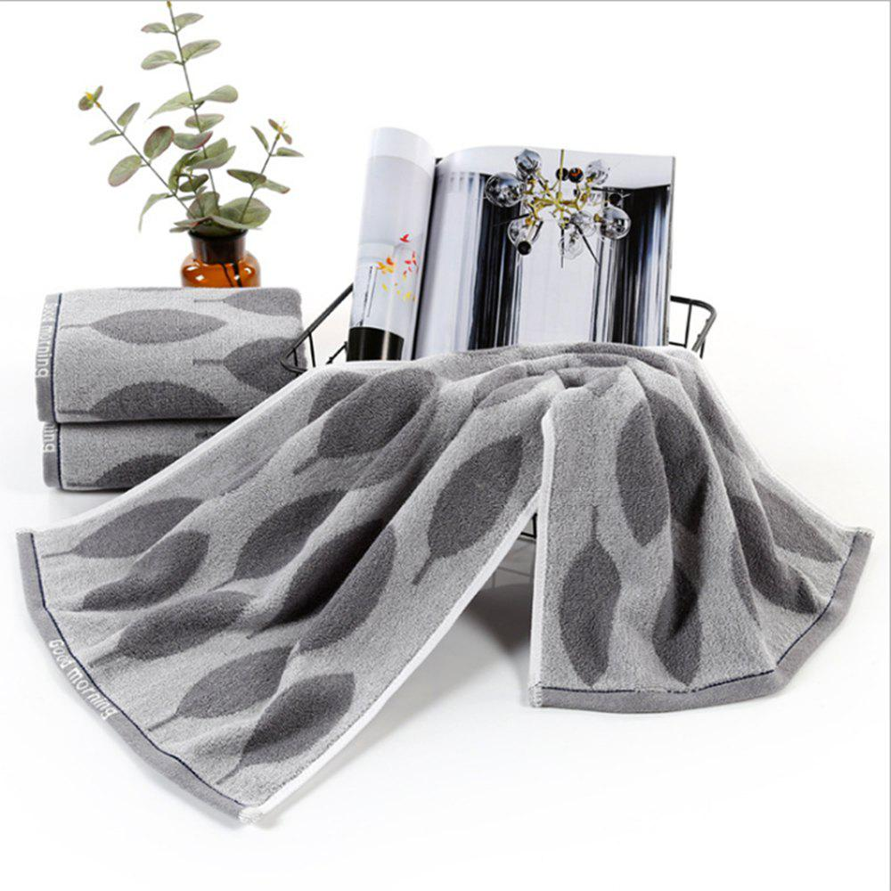 Online Cotton Absorbent Towel Dark Thick Home Couple Bath Towel