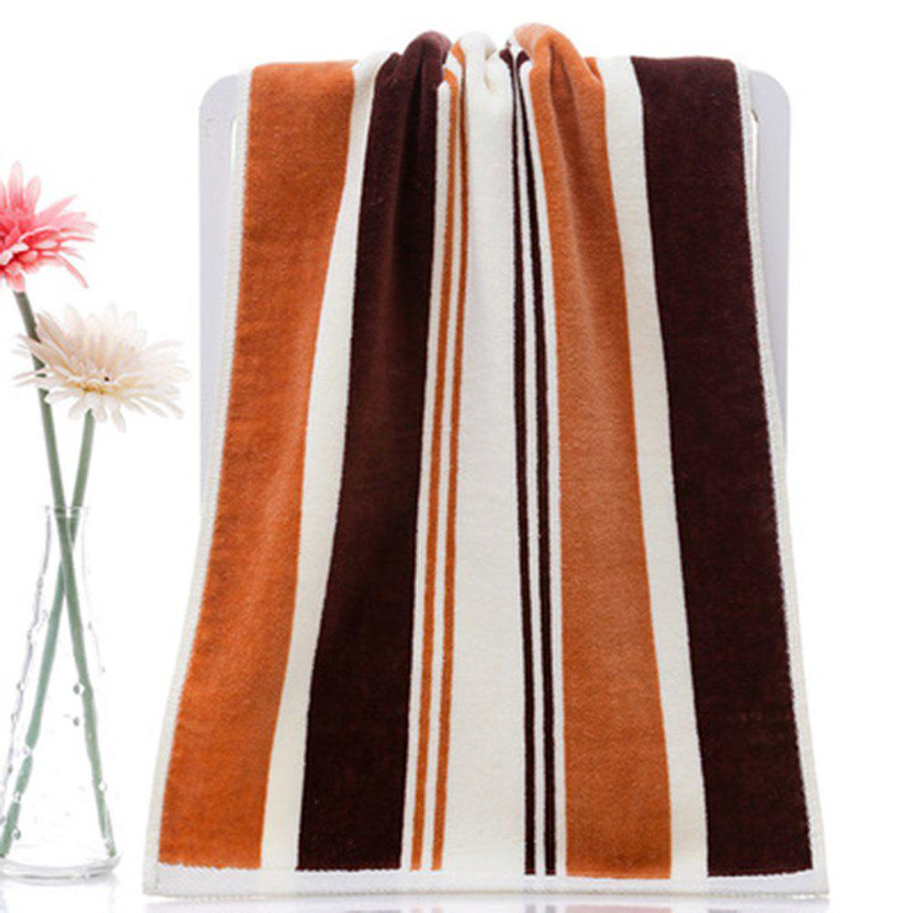 Unique Cotton Absorbent Soft Towel Multicolor Striped Thickening Wash Towel