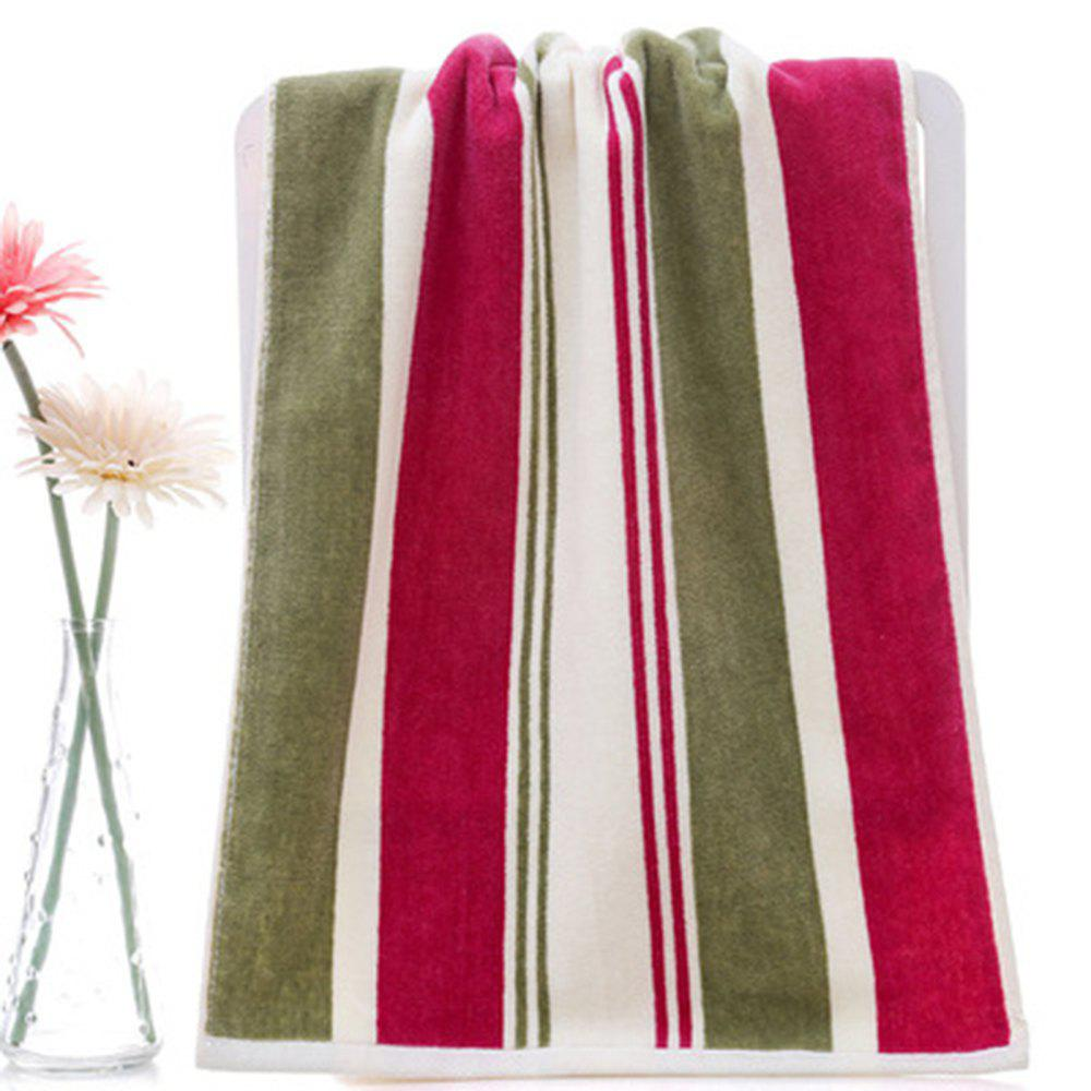 Fancy Cotton Absorbent Soft Towel Multicolor Striped Thickening Wash Towel