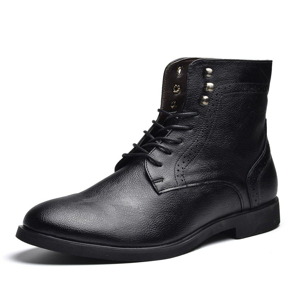 Outfit COSIDRAM Men Wear Autumn and Winter Ankle Boots