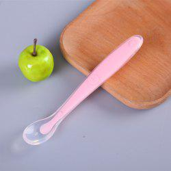 Baby Products Baby Silicone Soft Spoon Baby Full Silicone Spoon Feeding Tablewar -