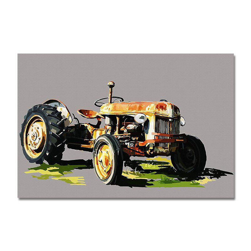 DYC 3PCS Retro Art Kart Print