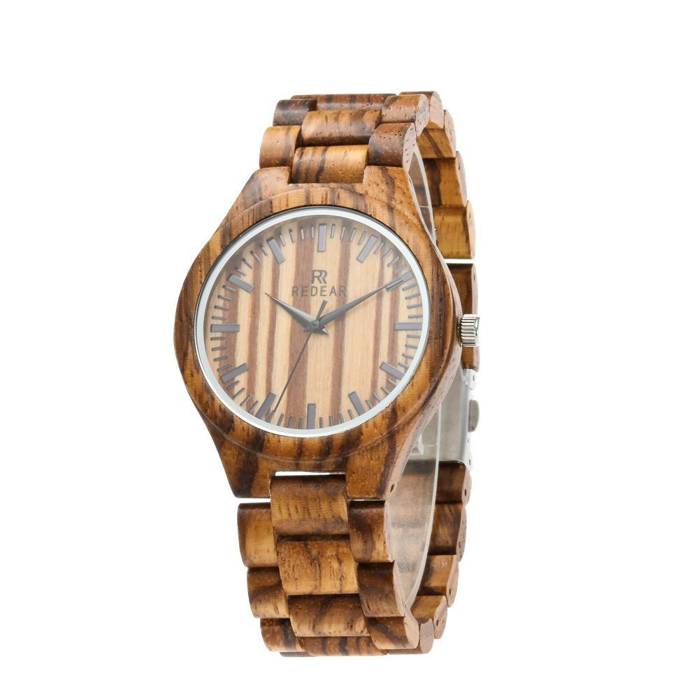 Buy Personality Design Wristwatch Natural Wood Quartz Watch