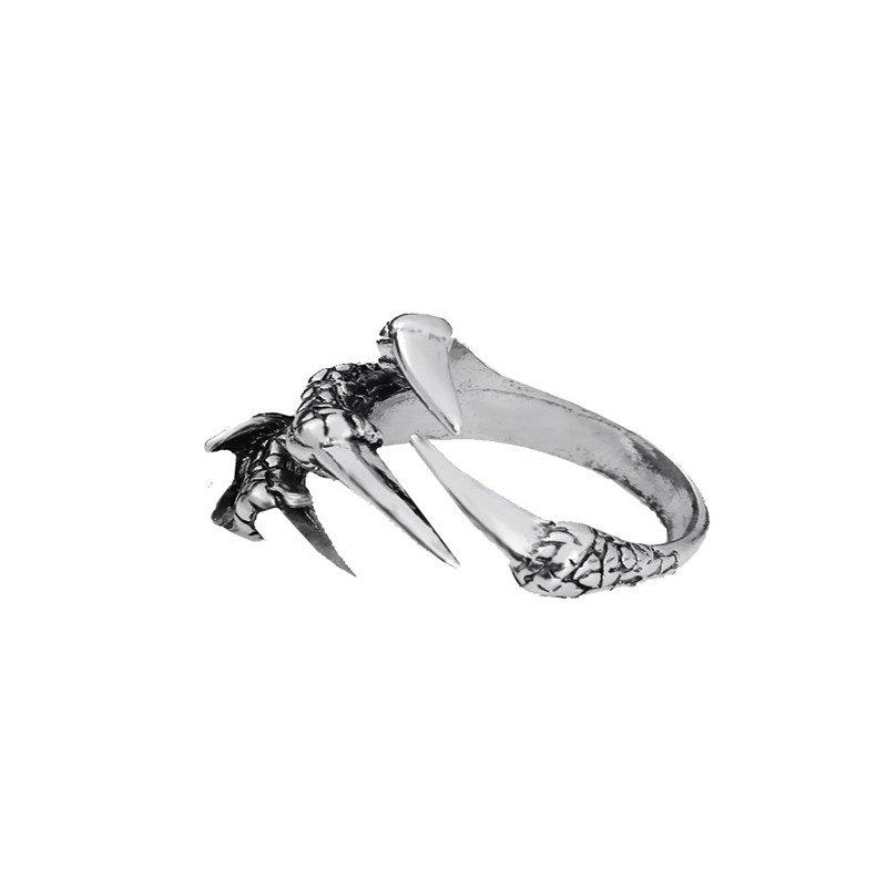 Shop Fashionable Personality Men's Open Dragon Claw Ring