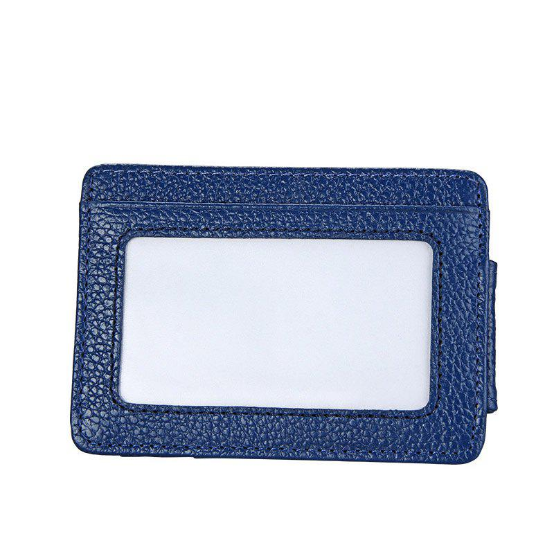 Sale Men Money Clip Women Card Holder Male Genuine Leather Small Wallet Coin Purse