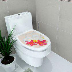 Autocollant de toilette Animal World Flamingo Autocollant de décoration pour la maison -