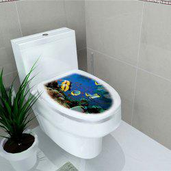 Toilet Sticker Animal World Flamingo Toilet Sticker Home Decoration Stickers -