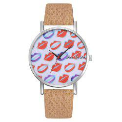 Ms. Sexy Lips Mirror Watch Creative Quartz Watches Sell Like Hot Cakes -