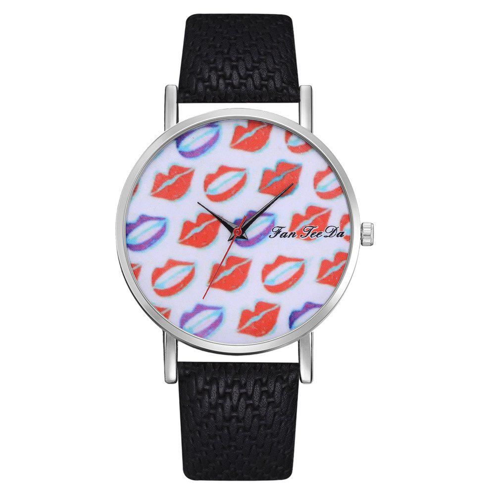 Discount Ms. Sexy Lips Mirror Watch Creative Quartz Watches Sell Like Hot Cakes