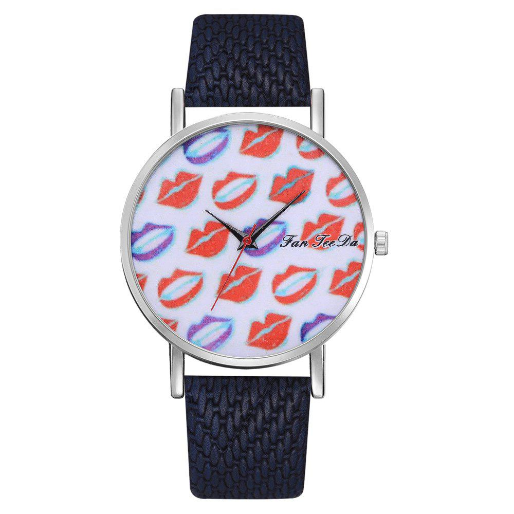 Best Ms. Sexy Lips Mirror Watch Creative Quartz Watches Sell Like Hot Cakes