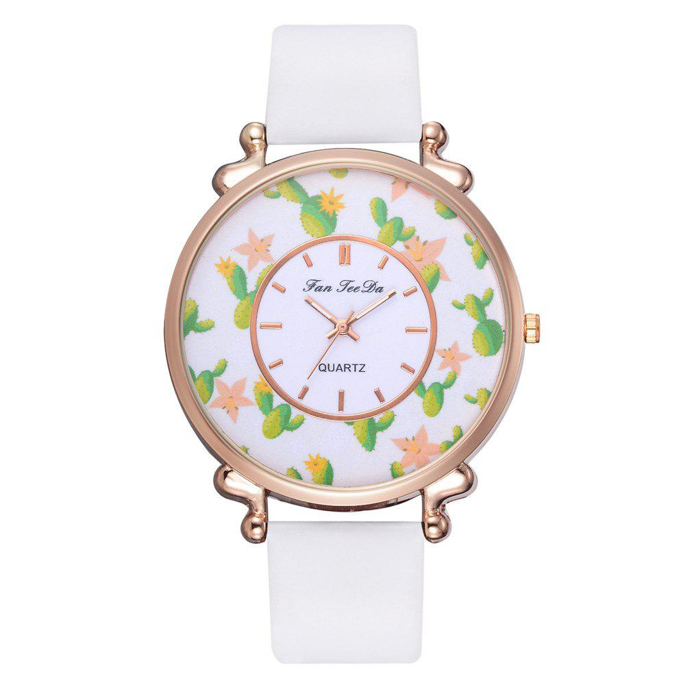New Rural Wind Students Watch The Creative Personality Smooth Belt Quartz Watches