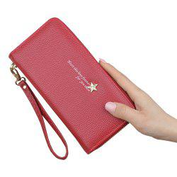 Women'S Wallet New Zipper Long Large Capacity Clutch Bag Mobile Phone Bag -