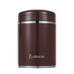 Brillante Stainless Steel Vacuum Braised Cup Bottle 460ml Brown -
