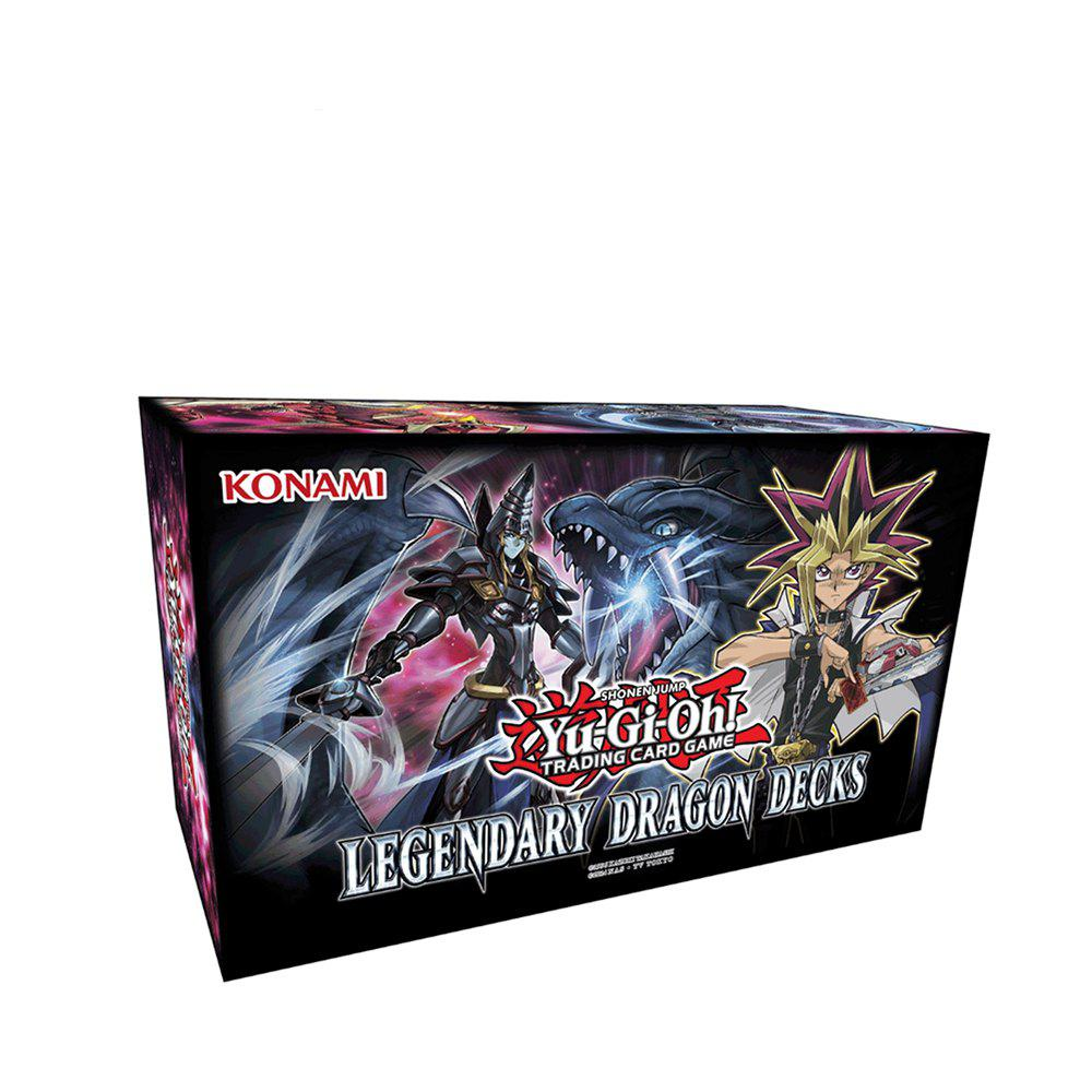 New Yu-Gi  Trading Card- Yugioh Legendary Dragon Decks Box