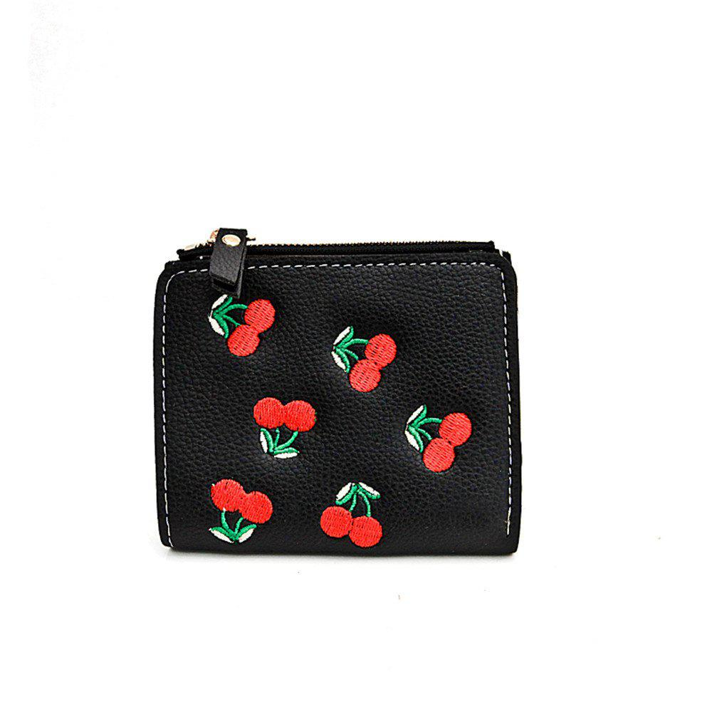 Discount Winter 2018 New Style A Lady'S Purse Two Fold Card Package