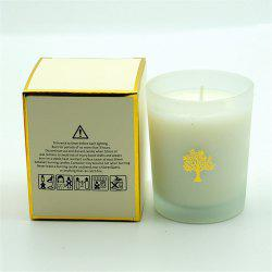 Glasses Scented Candle Wedding Handmade Gift Natural Soy Romantic Candles -