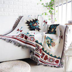 European Style Throw Blanket Sofa Decorative Non- Slipcover Cobertor on Sofa Bed -
