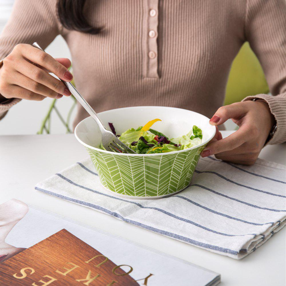 Outfit Modern Style Ceramic Bowl Tableware Noodles Soup Bowl