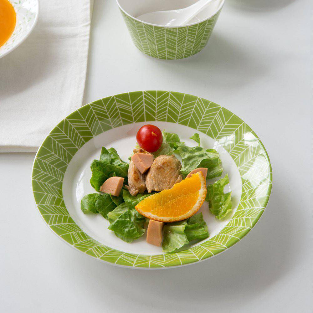 Outfit Modern Style Ceramic Dish Soup  Salad Plate