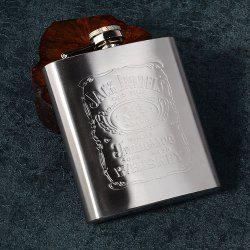 7 Ounce Stainless Steel Men Jug Outdoor Portable Flagon Male Small Mini Bottle -