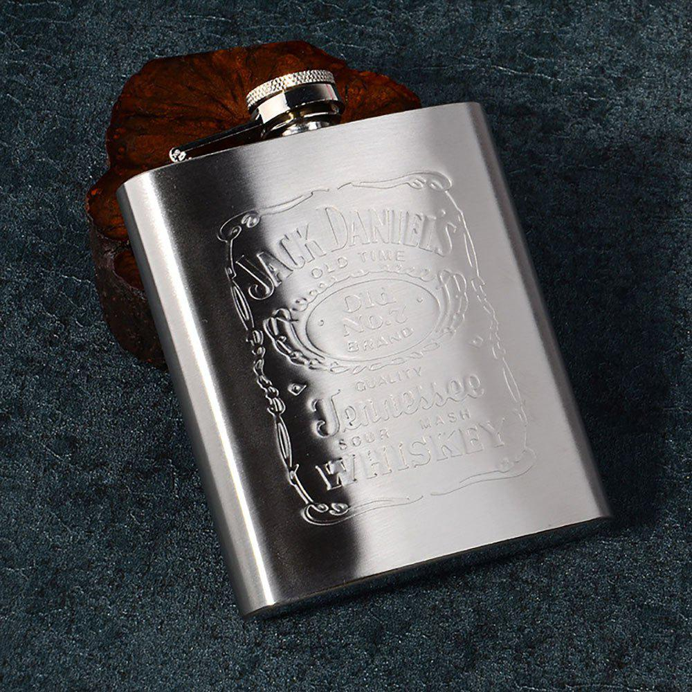 Affordable 7 Ounce Stainless Steel Men Jug Outdoor Portable Flagon Male Small Mini Bottle