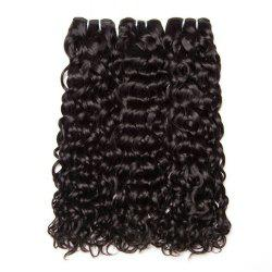 Water Hair Bundles Indian Water Wave Human Hair 3 Bundles Curly Wave Bundles -