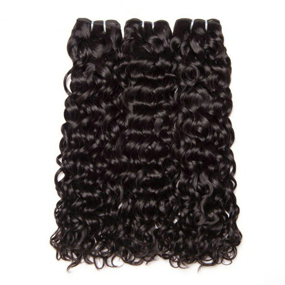 Buy Water Hair Bundles Indian Water Wave Human Hair 3 Bundles Curly Wave Bundles