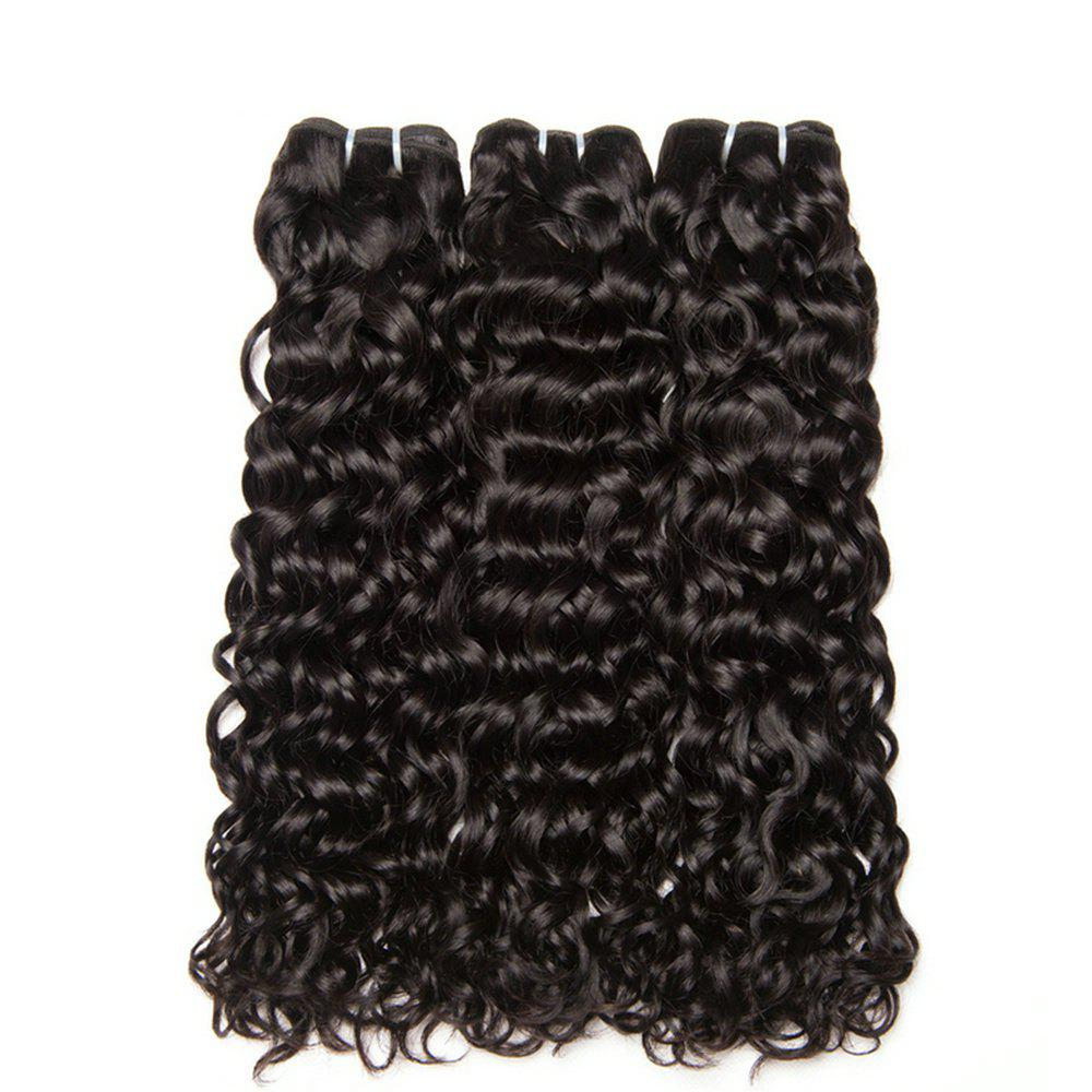 New Peruvian Curly Hair Bundles Wet and Wavy Human Hair Weave Bundles