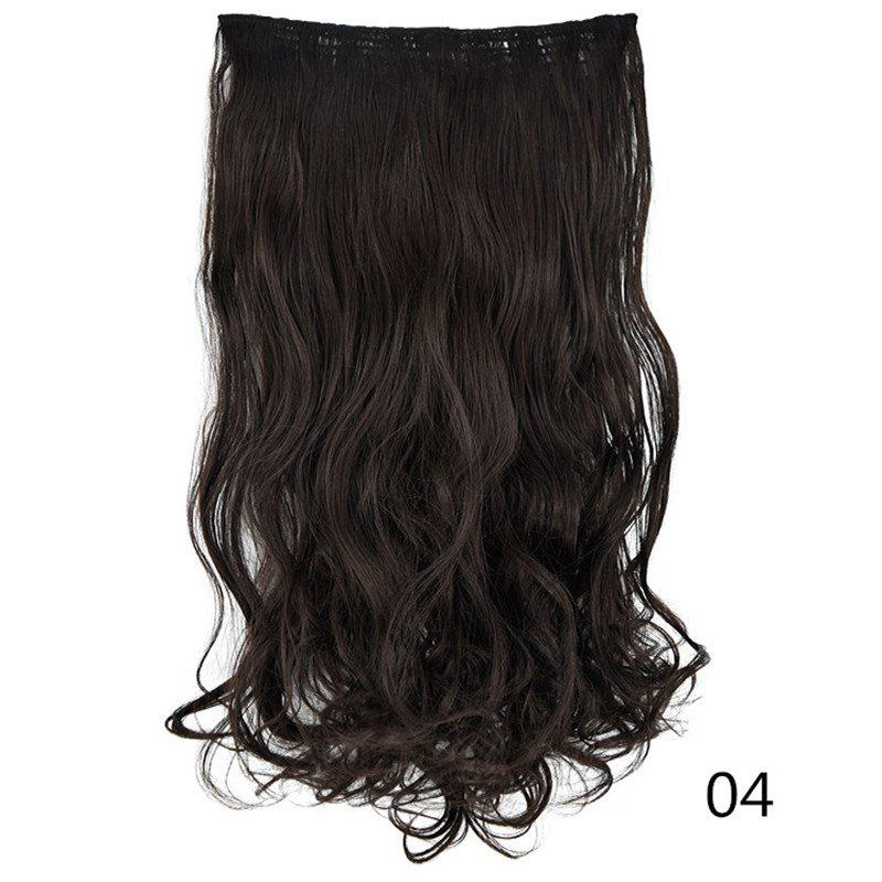 Latest U-Shaped Half Head Cover Synthetic Wig Long Curly Hair